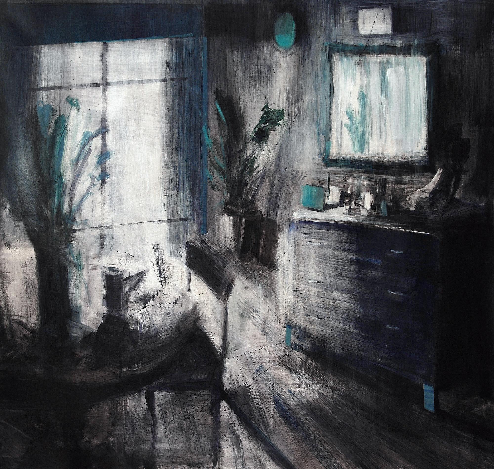 """Tina Sgrò, """"Tondo"""" (Dettaglio), 2014, Acrilico Su Tela, Courtesy L'Artista"""