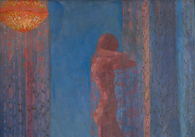 """Felice Casorati, """"Notturno"""" 1912-1913"""