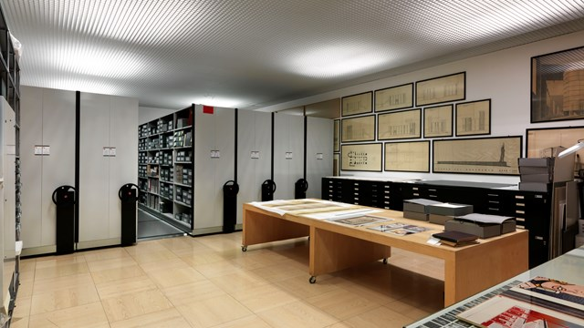 Historical archives and Library