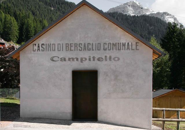 Restauro Casino di Bersaglio Campitello