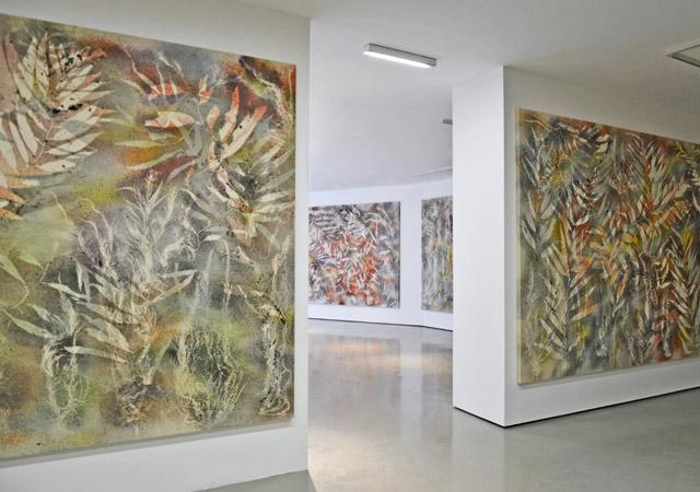 """Sam Falls. Nature Is the New Minimalism"", veduta dell'allestimento"