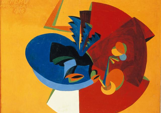 Fortunato Depero - Movimento d'uccello, 1916