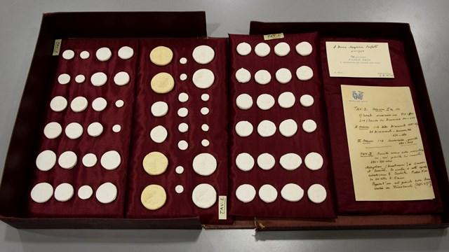 Calchi di monete greche donati da Paolo Orsi a Margherita Sarfatti, 1930, Mart, Archivio del '900, Fondo Sarfatti