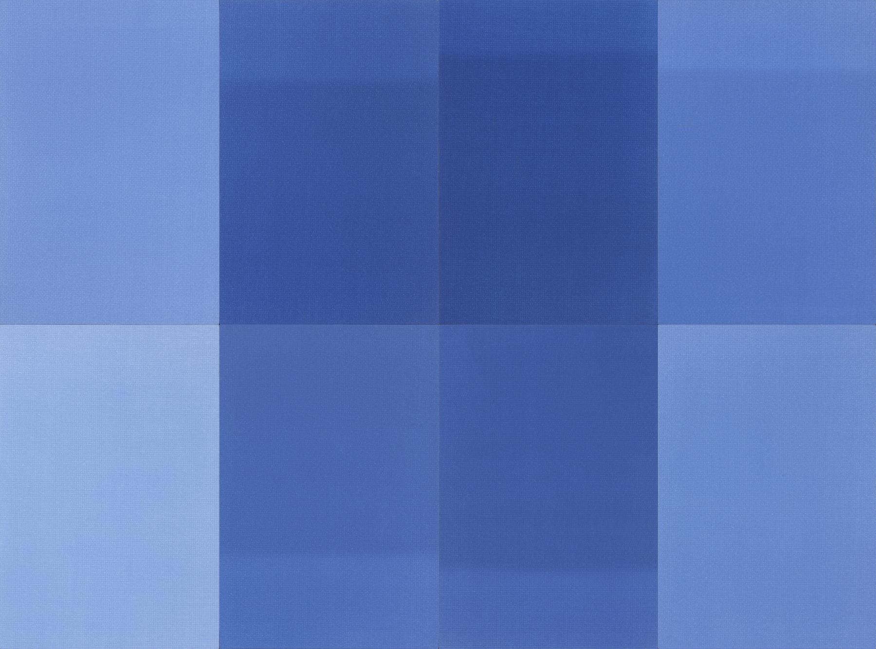 """Tessitura n. 01/02/03/04/05/06/07/08"", 2018, tecnica mista su tela, 240 x 320 cm, Courtesy l'artista"