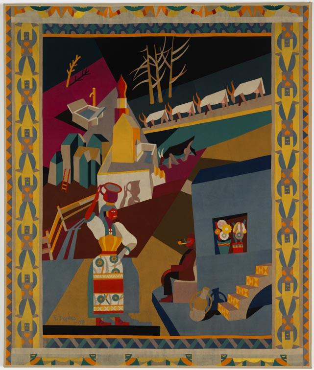 """Fortunato Depero, """"Serrada"""", 1920"""