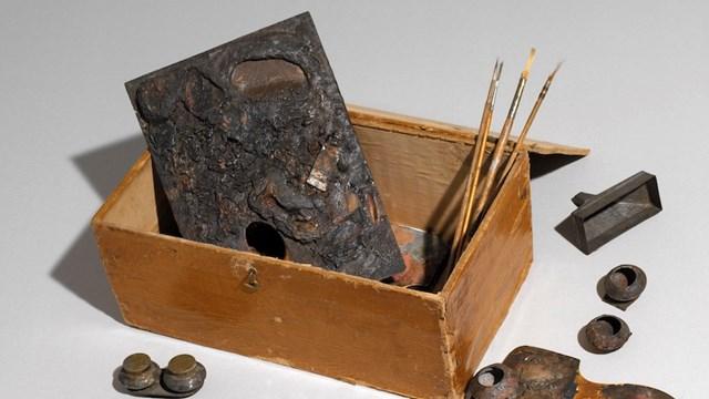 Oggetti e cimeli di Vittore Grubicy, fine XIX-inizio XX secolo, Mart, Archivio del '900, Fondo Grubicy