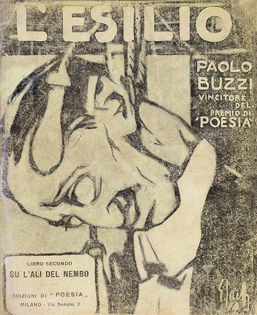 """Paolo Buzzi, """"L'esilio. Poema in prosa"""", Edizioni di """"Poesia"""", Milano 1906"""