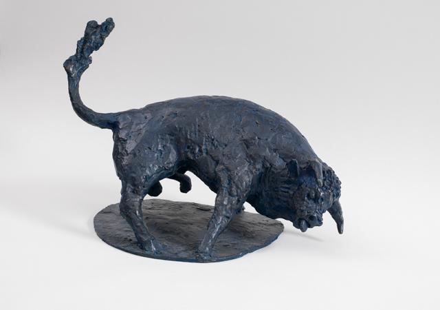 "Othmar Winkler, ""Toro blu"", 1996-1997"