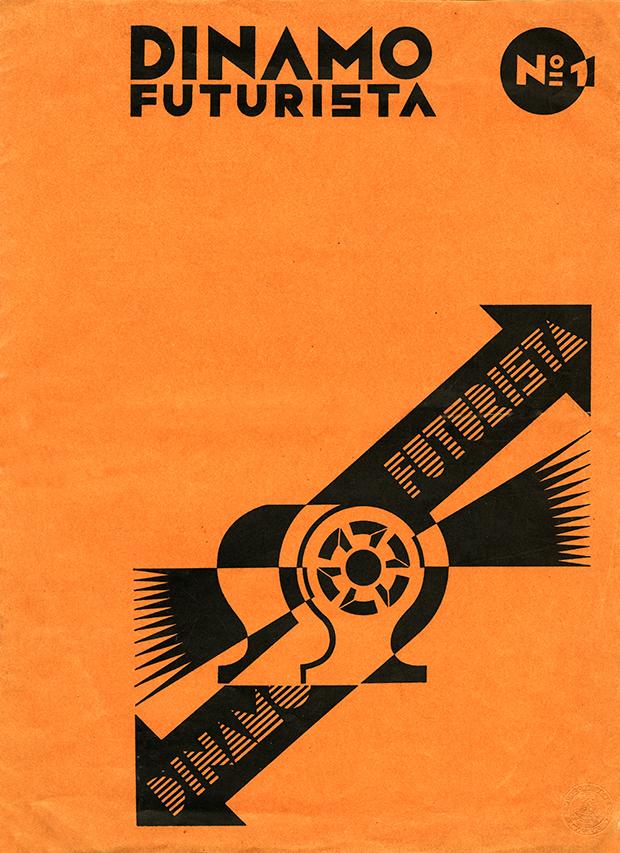 """Fortunato Depero, """"Dinamo futurista"""", Tipografia Mercurio, Rovereto 1933"""