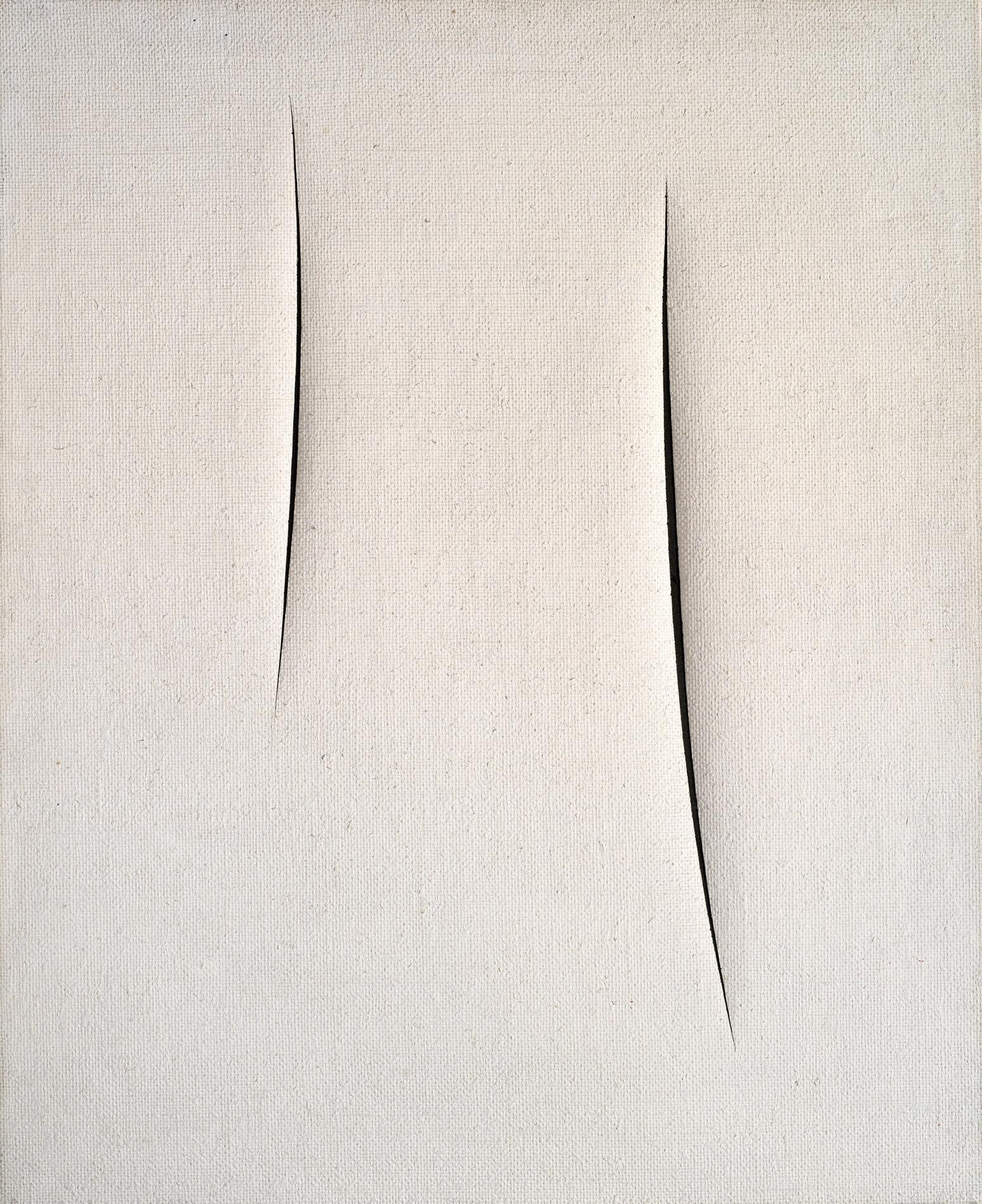 """Lucio Fontana, """"Concetto spaziale. Attese"""", 1959"""