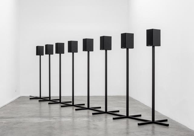 """Andrea Galvani, """"A Cube, a Sphere, and a Pyramid #1"""", 2012, Collection privata, Zurigo"""