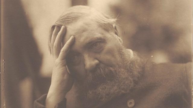 Benvenuto Benvenuti, Ritratto di Vittore Grubicy, 1910 circa, Mart, Archivio del '900, Fondo Grubicy