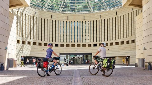 Museum by bike